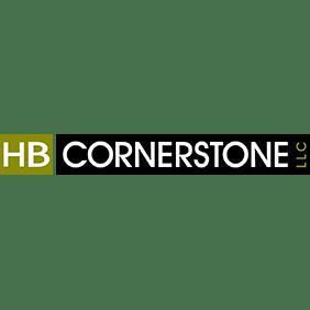 Logo for RRH Gala sponsor, HB Cornerstone.