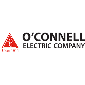 Logo for RRH Gala sponsor, O'Connell Electric Company.