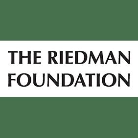 Logo for RRH Gala sponsor, The Riedman Foundation.