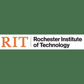 Logo for RRH Gala sponsor, RIT.